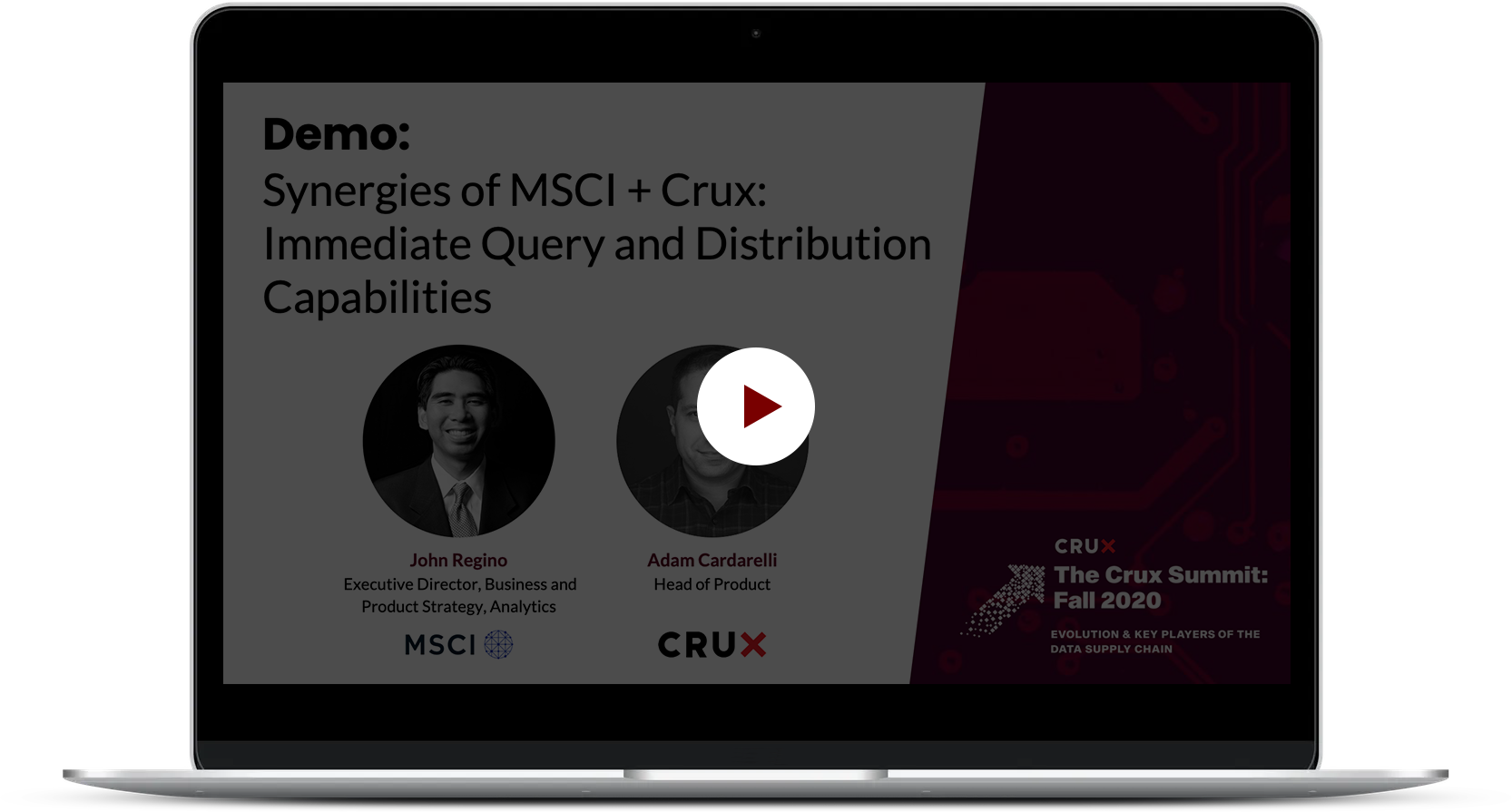 Crux_TCS_Demo+SynergiesMSCI_Crux+ImmediateQueryDistributionCapabilities_03
