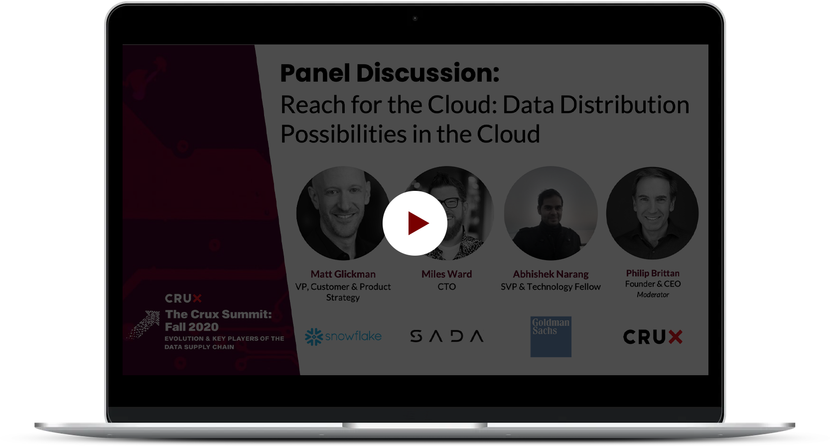 Crux_TCS_PanelDiscussion+ReachfortheCloud+DataDistributionPossbilitiesintheCloud_10